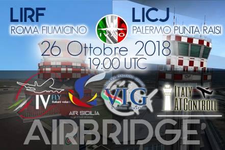 AirBridge Roma Fiumicino - Palermo Punta Raisi